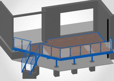 Terrassenkonstruktion