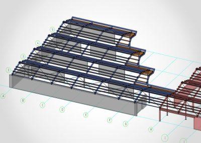 Dachkonstruktion Kinderhaus