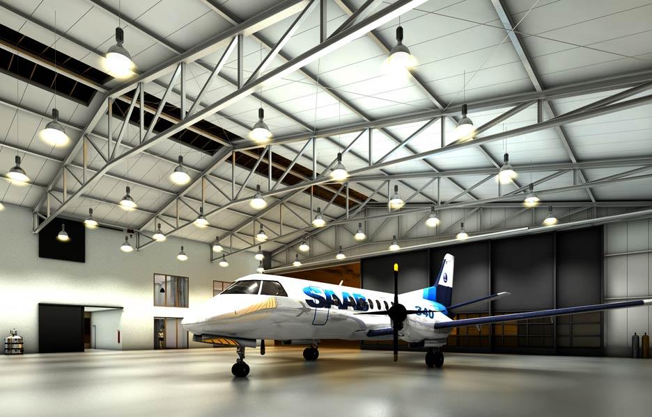 Neubau eines Flugzeughangars im Breisgau - NEUTRO Zeichnungsbüro
